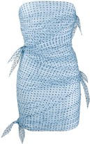 Philosophy di Lorenzo Serafini draped polka-dot dress
