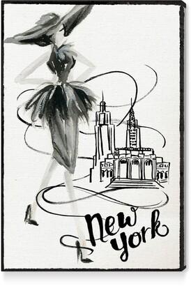 Oliver Gal Fashion Doll New York Canvas Wall Art