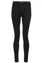 Quiz Black Denim Skinny High Waisted Jeans