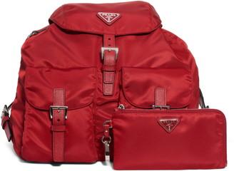 Prada Vela Nylon Backpack