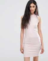 Only Pink Bodycon Dress