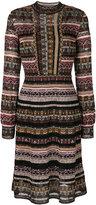 M Missoni patterned long-sleeved dress