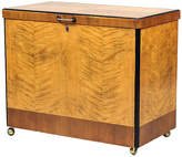 One Kings Lane Vintage Art Deco Maple & Birch Bar Cabinet