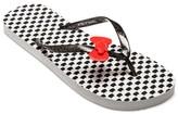 Hello Kitty Women's Polka Dot Flip Flop
