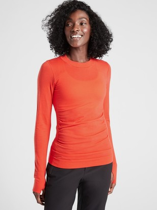 Athleta Foresthill Merino Wool Ascent Top