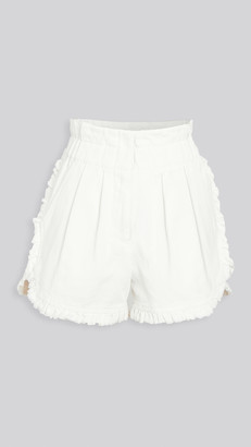 Sea Doris Ruffle Shorts