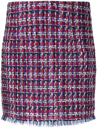 Etro Straight Tweed Skirt