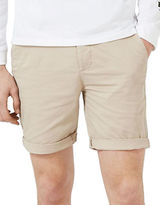 Topman Owen Stretch Skinny Chino Shorts