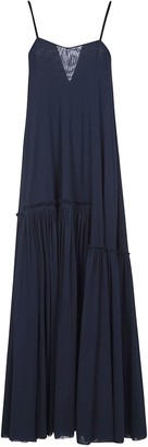 Jil Sander Pleated Skirt Long Dress