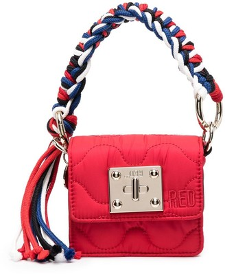 Red(V) Quilted Tote Bag