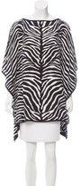 Michael Kors Zebra Print Oversize Top