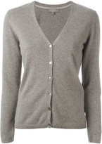 N.Peal cashmere classic cardigan