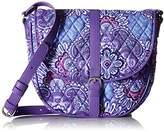 Vera Bradley Slim Saddle Bag