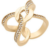 Michael Kors Brilliance Interlocking Hoop Ring