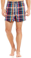 Psycho Bunny Woven Plaid Boxers