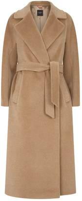 Max Mara Wool-Blend Corona Wrap Coat