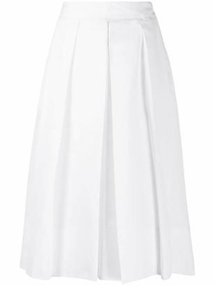 Ballantyne Pleated Midi Skirt