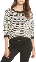 Moon River Women's Textrued Knit Sweater