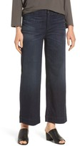 Eileen Fisher Women's Wide Leg Denim Trousers