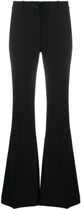MICHAEL Michael Kors Flared Mid-Waist Trousers