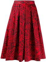 Missoni abstract print skirt