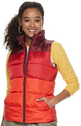 So Juniors' Puffer Vest