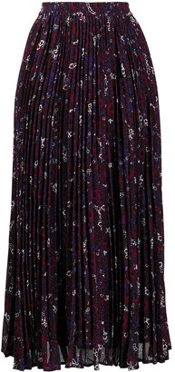 MICHAEL Michael Kors Azalea pleated skirt