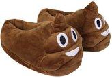 NOPTEG Unisex Emoji Soft Cute Cartoon Slippers Winter Warm Plush Indoor Home Shoes