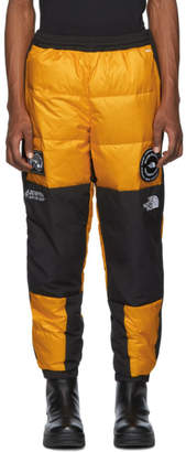 The North Face Black and Yellow Down 7SE Snow Pants