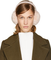 Yves Salomon Pink Fur Earmuffs