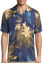 Island Shores Short Sleeve Button-Front Shirt