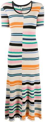 Kenzo Striped Knitted Dress
