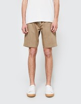 Our Legacy Relaxed Shorts Tan Fine Gaberdine