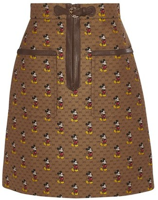 Gucci Mickey Mouse short skirt