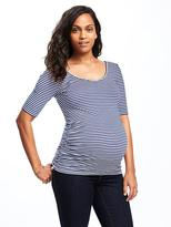 Old Navy Maternity Fitted Ballet-Neck Top