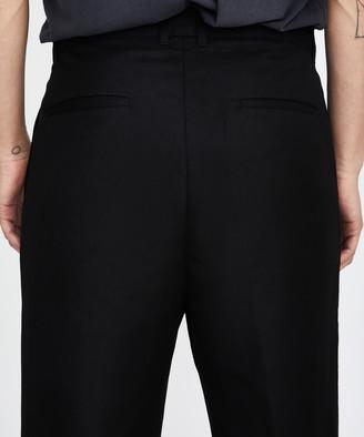 Blacknoise/Whiterain Flourite Suit Pants Black