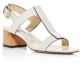 Jimmy Choo Women's Jin 45 Block-Heel Sandals