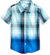 Epic Threads Ombre Plaid Cotton Shirt, Toddler & Little Boys (2T-7), Only at Macy's