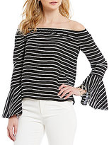 Gianni Bini Debbie Off The Shoulder Bell Sleeve Blouse
