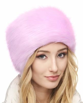 Futrzane Russian Faux Fur Hat for Women - Comfy Cossack Style (M