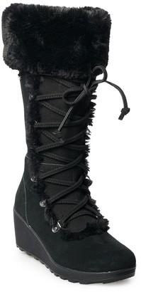 BearPaw Minka Women's Winter Wedge Boots