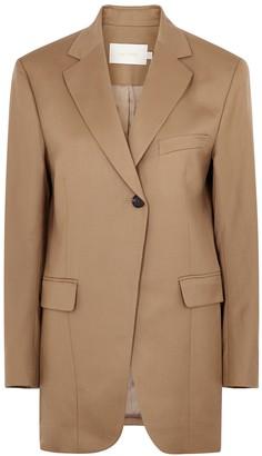 Low Classic Camel Wool Blazer
