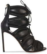 Francesco Russo Francesca Russo Front Lace-up High Heel Sandals