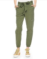 Juicy Couture Washed Military Twill Pant