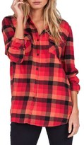 Volcom Desert High Plaid Top