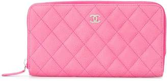 Chanel Pre-Owned 2014-2015 quilted CC logos purse