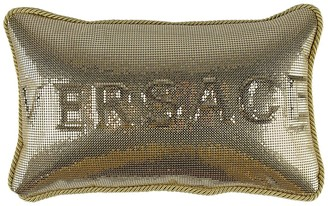 Versace Metal Mesh Small Pillow