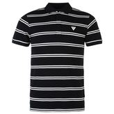 Soviet Double Stripe Polo Shirt