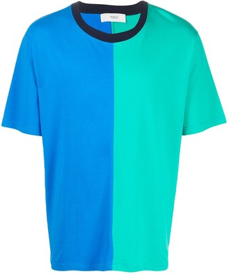 Pringle colour-block short sleeve T-shirt
