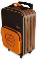 The Shrunks Mini Travel Luggage in Orange Stripe